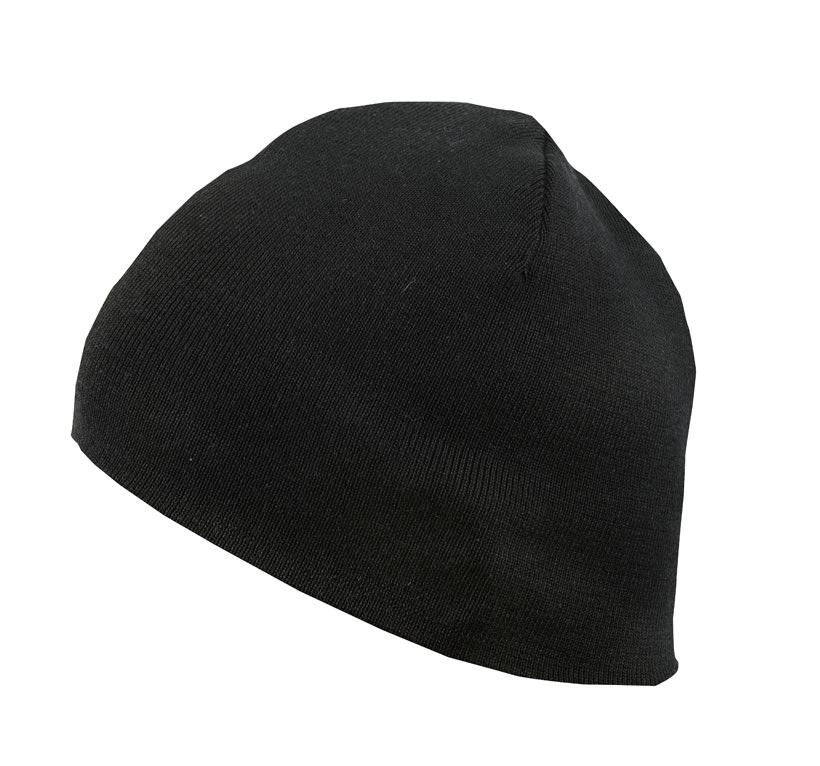 aclima classic beanie - jet black