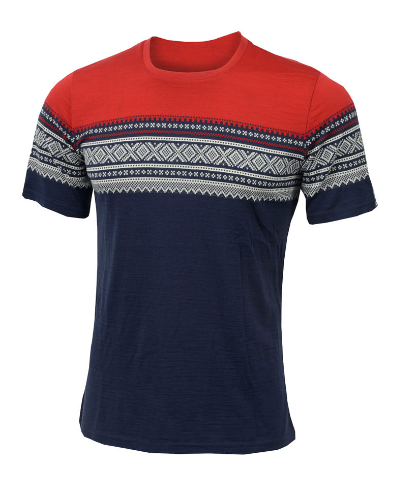 aclima designwool marius t-shirt herre - original