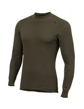 aclima hotwool crew neck unisex - olive night