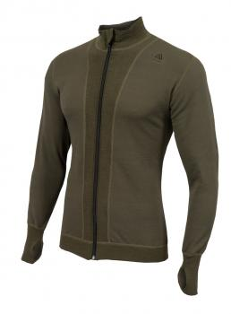 aclima hotwool light jacket unisex - olive night