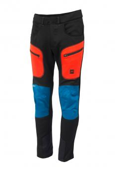 aclima lars monsen anàrjohka pants herre - jet black/poinciana/blue sapphire - 086
