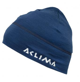 aclima lightwool beanie - insignia blue