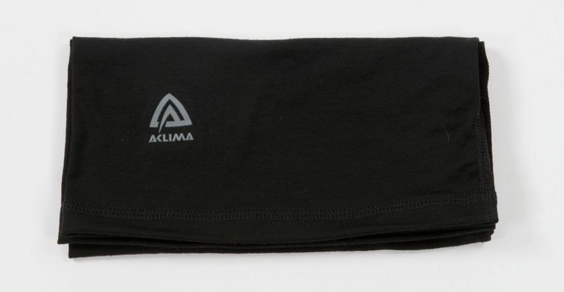 aclima lightwool headover - jet black