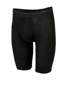 aclima lightwool long shorts herre - jet black