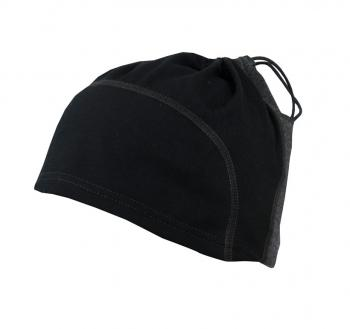 aclima lightwool multifunction beanie - jet black/marengo