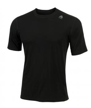 aclima lightwool t-shirt classic herre - jet black