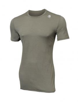 aclima lightwool t-shirt herre - ranger green