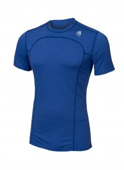 aclima lightwool t-shirt herre - dazzling blue