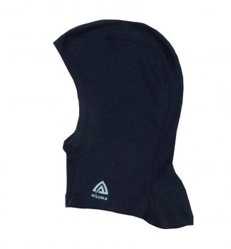 aclima warmwool balaclava barn/junior - peacoat