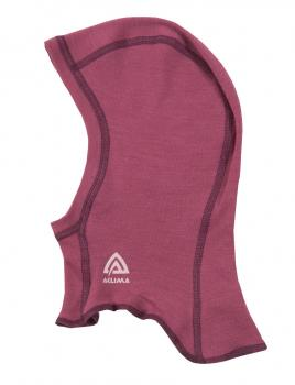 aclima warmwool balaclava barn/junior - damson
