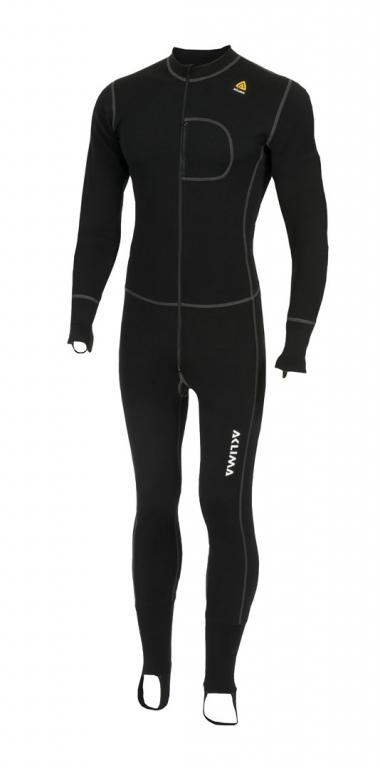 aclima warmwool bodypiece - jet black