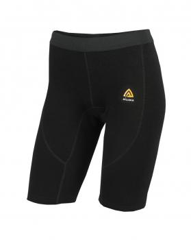 aclima warmwool long shorts dame - jet black