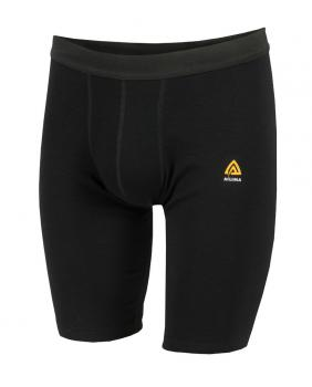 aclima warmwool long shorts herre - jet black