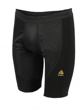 aclima warmwool long shorts w/windstop herre - jet black