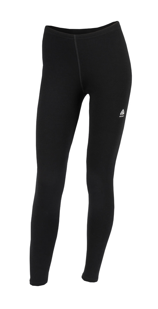 aclima warmwool longs dame - jet black