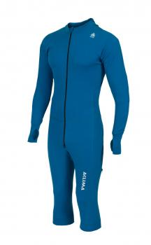 aclima warmwool overall 3/4 herre - blue sapphire
