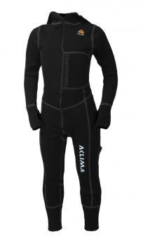 aclima warmwool overall barn - jet black