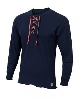 aclima warmwool shirt w/cord herre - peacoat
