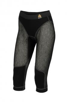 aclima woolnet 3/4 longs dame - jet black