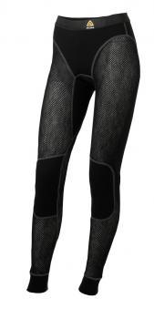 aclima woolnet longs dame - jet black
