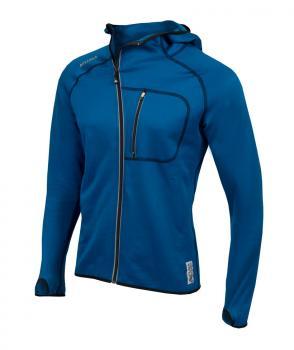 aclima woolshell jacket w/hood herre - blue sapphire