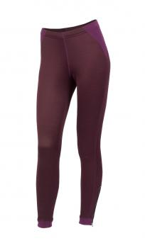 aclima woolshell pants dame - grape wine
