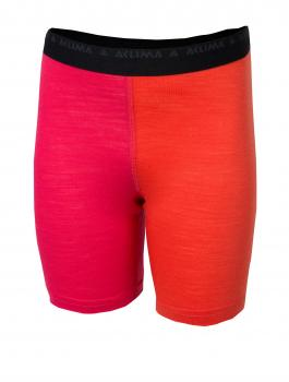 aclima lightwool shorts long junior