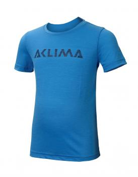 aclima lightwool t-shirt logo junior - blithe