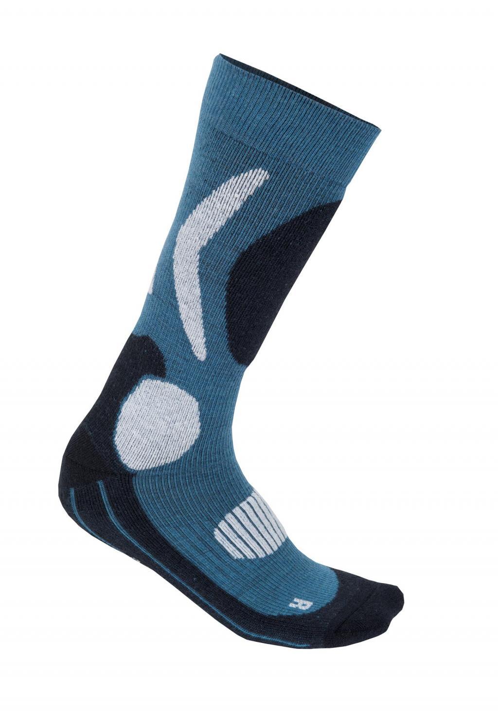 aclima x-country socks - blue sapphire