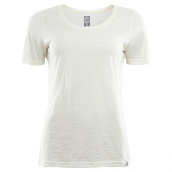 aclima lightwool t-shirt dame - nature