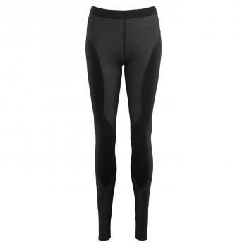 aclima flexwool tights dame - jet black
