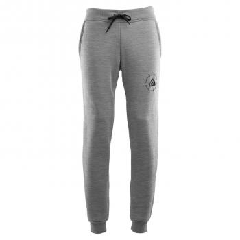 aclima fleecewool joggers herre - grey melange