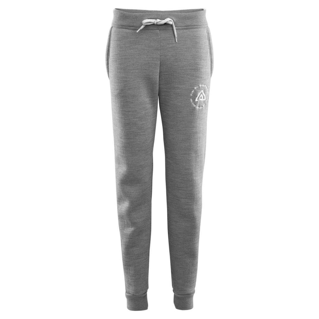 aclima fleecewool joggers dame - grey melange