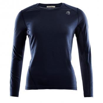 aclima lightwool sports shirt dame - navy blazer