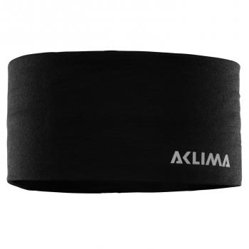 aclima lightwool headband - jet black