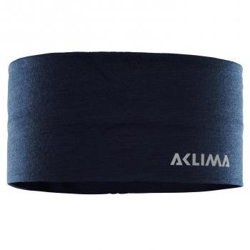 aclima lightwool headband - navy blazer