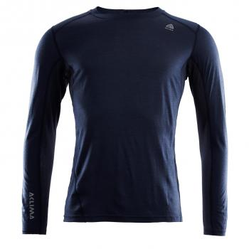 aclima lightwool sports shirt herre - navy blazer
