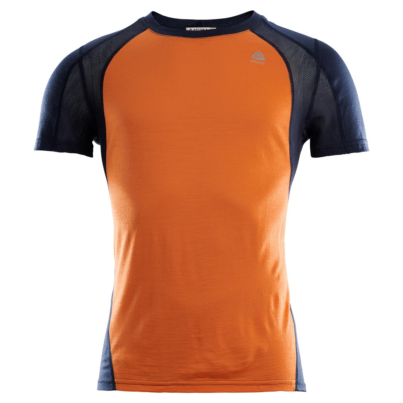 Aclima LightWool T Shirt Logo Herre Aclimashop