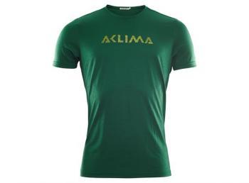 aclima lightwool t-shirt logo herre - eden
