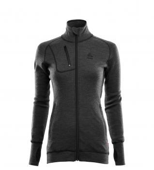 aclima doublewool jacket dame - marengo/jet black