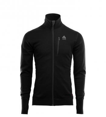 aclima doublewool jacket herre - jet black/marengo