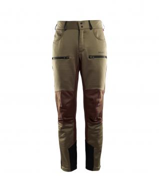 aclima woolshell pant herre - capers/dark earth