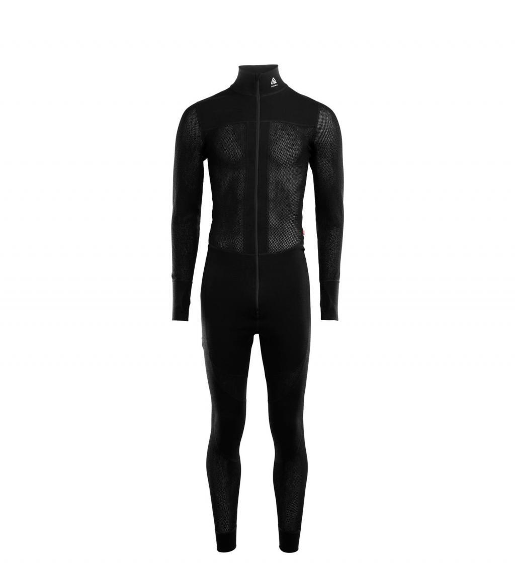 aclima woolnet overall herre - jet black