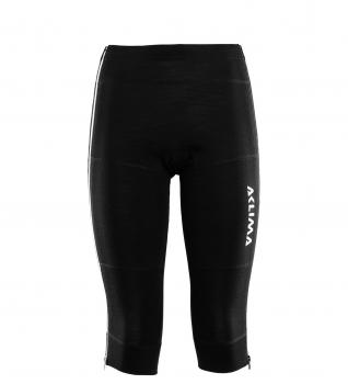 aclima warmwool 3/4 summit longs dame - jet black