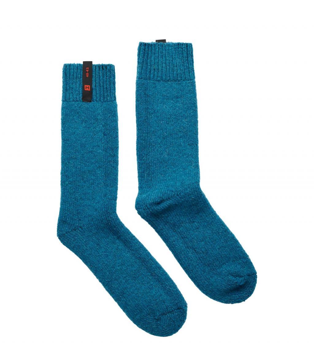 aclima lars monsen anárjohka thick socks - blue sapphire