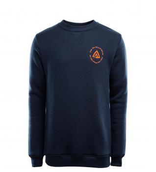 aclima fleecewool crew neck herre - navy blazer