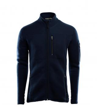 aclima fleecewool jacket herre - navy blazer