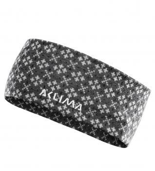 aclima designwool glitre headband unisex - alm