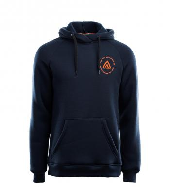 aclima fleecewool hoodie herre - navy blazer